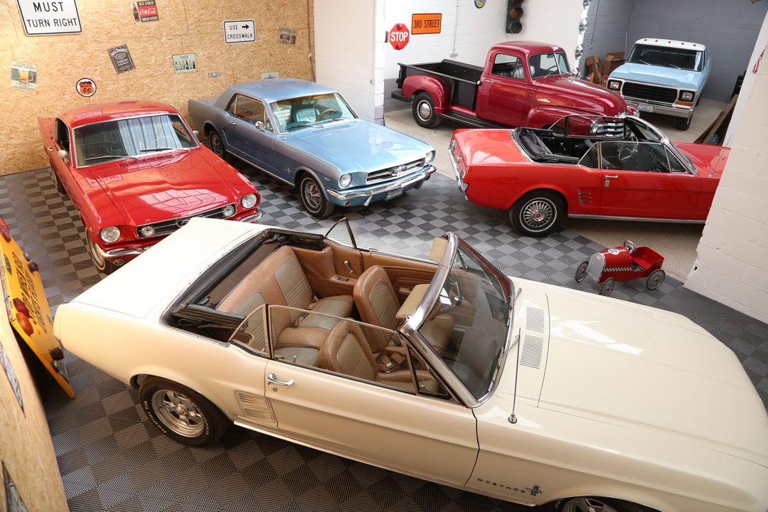 Garage de Joe's Dream Cars